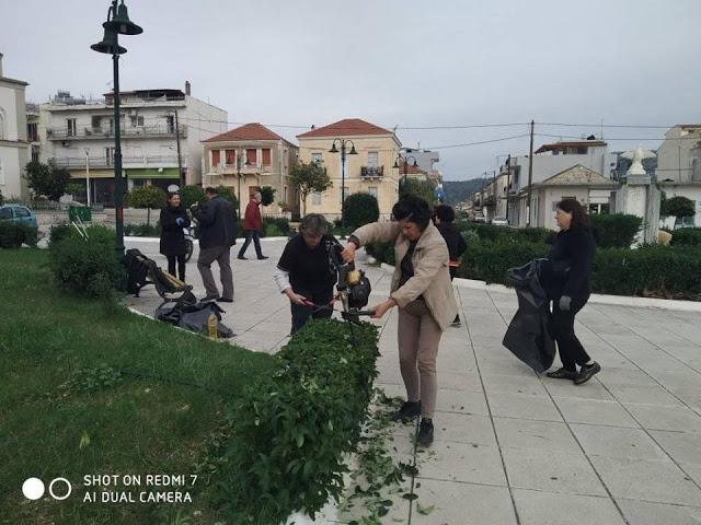 Παναγιώτης Στάϊκος με αφορμή τη δράση καθαρισμού της Πλατείας Αστακού: -Γιατί η ζωή είναι γυναίκα!!! - Φωτογραφία 3