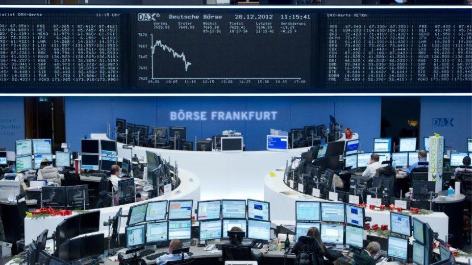Στο «κόκκινο» οι ευρωαγορές λόγω επικείμενων δασμών - Φωτογραφία 1