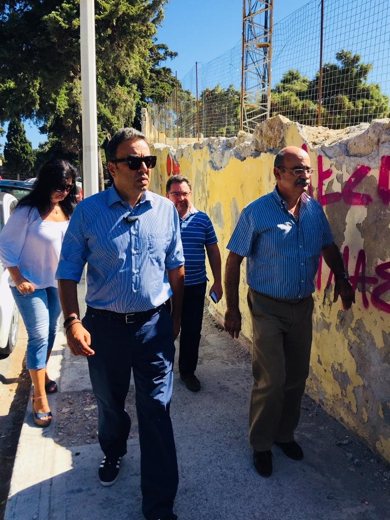 """Αποκατάσταση του Δημοτικού Σταδίου Ρόδου """"ΔΙΑΓΟΡΑΣ"""" - Φωτογραφία 1"""