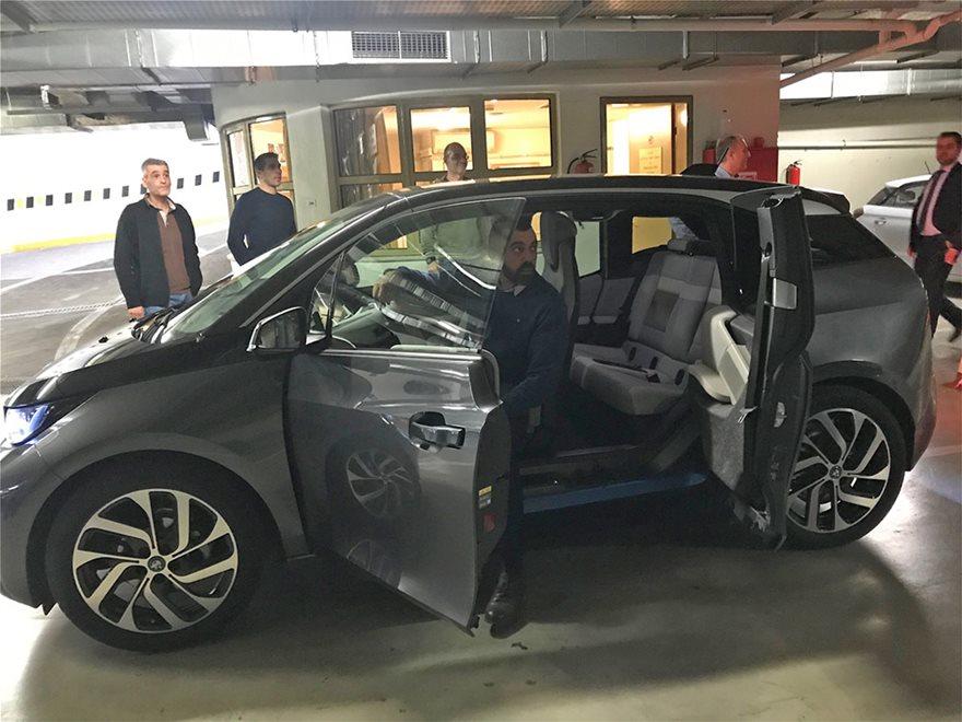 Βουλή: «Πίστα δοκιμών» το πάρκινγκ για τα νέα ηλεκτροκίνητα ΙΧ - Δείτε φωτος - Φωτογραφία 4