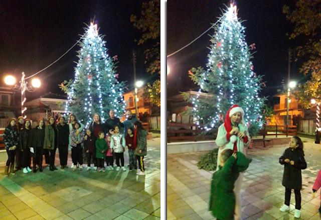 Άναψε το χριστουγεννιάτικο δέντρο στα ΠΑΛΙΑΜΠΕΛΑ - [ΦΩΤΟ: Στέλλα Λιάπη] - Φωτογραφία 1