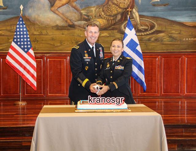 Συγχαρητήρια! Στο Βαθμό της Αντισυνταγματάρχη προήχθη η Ελληνομαερικανίδα Τχης του NRDC-GR Nikolitsa Wooten - Φωτογραφία 1