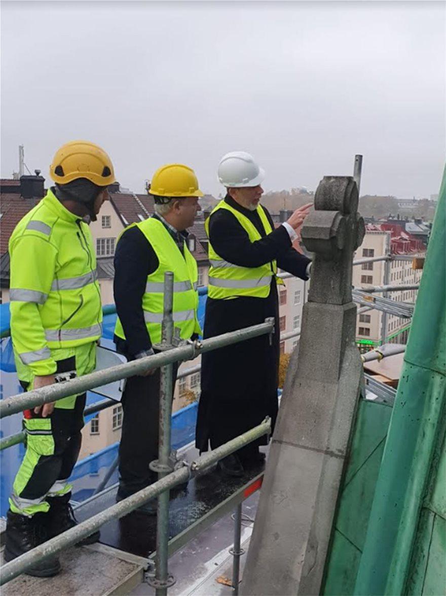 Ολοκληρώθηκε η ανακαίνιση του Καθεδρικού Ναού στη Στοκχόλμη - Φωτογραφία 2