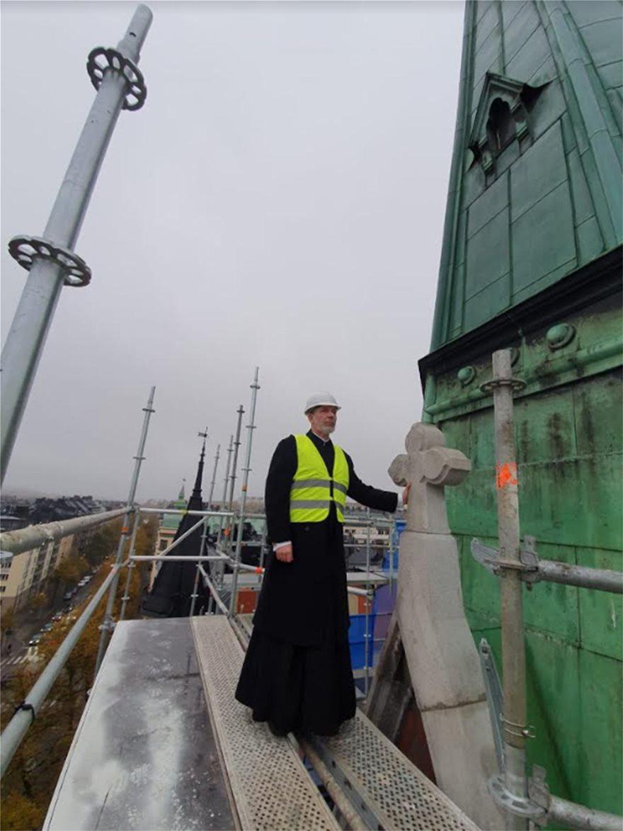 Ολοκληρώθηκε η ανακαίνιση του Καθεδρικού Ναού στη Στοκχόλμη - Φωτογραφία 3