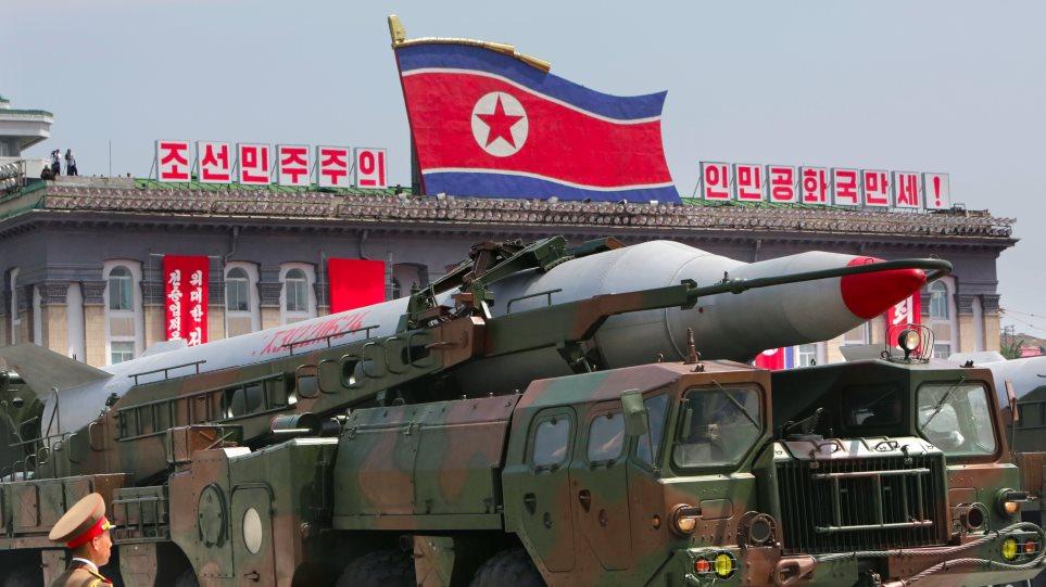 Βόρεια Κορέα: Η νέα πυραυλική δοκιμή έχει σκοπό την «εξουδετέρωση των πυρηνικών απειλών των ΗΠΑ» - Φωτογραφία 1