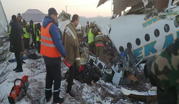 Τραγωδία στο Καζακστάν: Συντριβή αεροπλάνου με 100 επιβάτες σε κατοικημένη περιοχή - Φωτογραφία 1