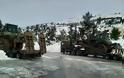 Συμβολή Προσωπικού και Μέσων του Στρατού Ξηράς στην Αντιμετώπιση των Επιπτώσεων της Πρόσφατης Χιονόπτωσης
