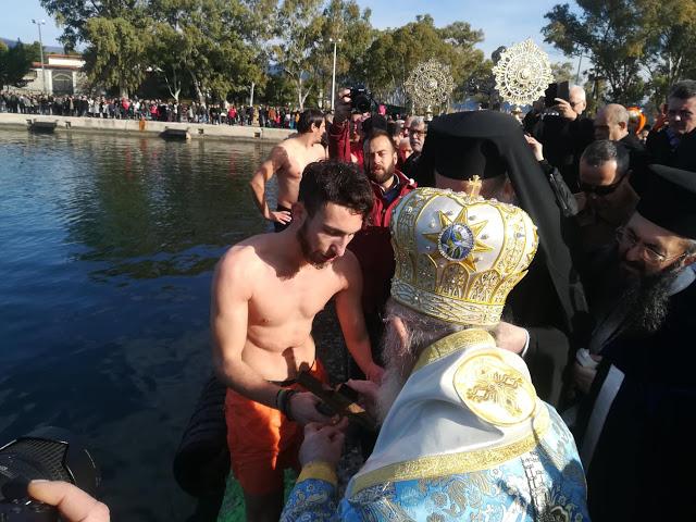 Τα Άγια Θεοφάνεια στην Ιερή Πόλη του Μεσολογγίου - Φωτογραφία 3