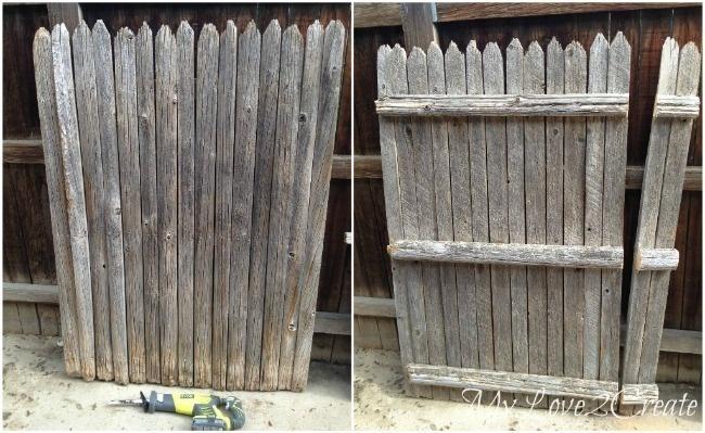 ΚΑΤΑΣΚΕΥΕΣ - Βρήκε ένα παλιό φράχτη και τον χρησιμοποίησε με τρόπους που δεν είχαμε σκεφτεί ποτέ! - Φωτογραφία 1
