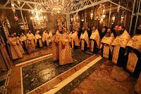 13031 - Φωτογραφίες από τον σημερινό εορτασμό της Περιτομής του Κυρίου και του Αγίου Βασιλείου στο Βατοπαίδι. Κοπή βασιλόπιτας - Φωτογραφία 1