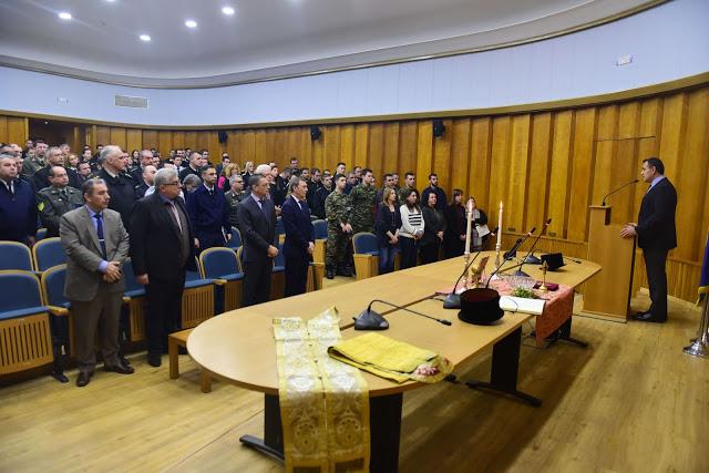 Παρουσία ΥΕΘΑ κ. Νικολάου Παναγιωτόπουλου στον καθιερωμένο Αγιασμό στο ΥΠΕΘΑ ενόψει του Νέου Έτους - Φωτογραφία 4