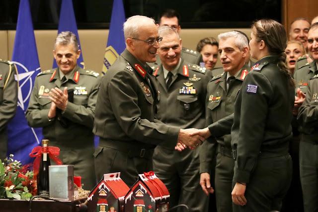Κοπή Πρωτοχρονιάτικης πίτας του Γενικού Επιτελείου Στρατού - Φωτογραφία 2