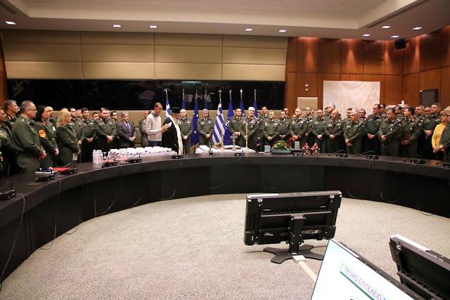 Κοπή Πρωτοχρονιάτικης πίτας του Γενικού Επιτελείου Στρατού - Φωτογραφία 5