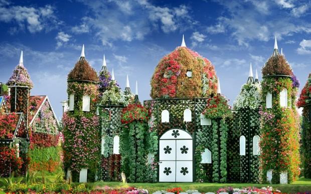 «Miracle Garden» Ο κήπος των θαυμάτων στο Ντουμπάι και δεν υπάρχει παρόμοιος σε όλο τον κόσμο. - Φωτογραφία 5