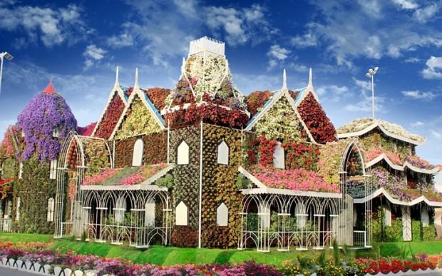 «Miracle Garden» Ο κήπος των θαυμάτων στο Ντουμπάι και δεν υπάρχει παρόμοιος σε όλο τον κόσμο. - Φωτογραφία 8