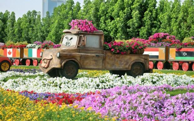 «Miracle Garden» Ο κήπος των θαυμάτων στο Ντουμπάι και δεν υπάρχει παρόμοιος σε όλο τον κόσμο. - Φωτογραφία 9