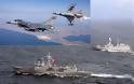 Ο μισός τουρκικός στόλος σε Αιγαίο και Νότια της Κρήτης