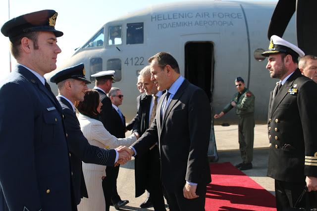 Επίσημη επίσκεψη ΥΕΘΑ κ. Νικόλαου Παναγιωτόπουλου στο Ισραήλ - Φωτογραφία 1