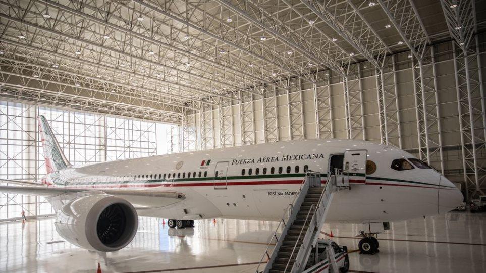 Μεξικό: Στα... αζήτητα προεδρικό αεροσκάφος 130 εκατομ.δολαρίων - Φωτογραφία 1