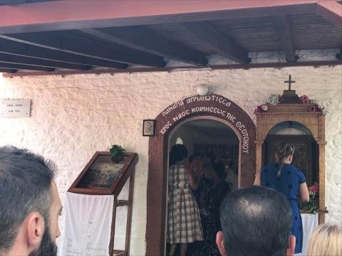 ΣΤΑΝΟΣ: Θεία λειτουργία στην Ι.Μ. της Παναγίας της Αγριλιώτισσας πριν το συλλαλητήριο! - Φωτογραφία 2