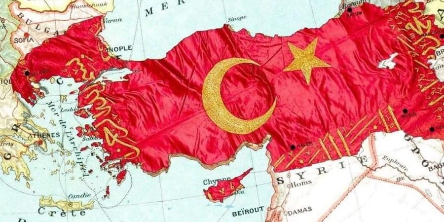 Πόλεμος… με χάρτες : Υπό τουρκική κατοχή Ρόδος, Κύπρος και Χαλκιδική - Φωτογραφία 1