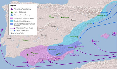 Οι αρχαίες Ελληνικές αποικίες στην Ισπανία - Φωτογραφία 1