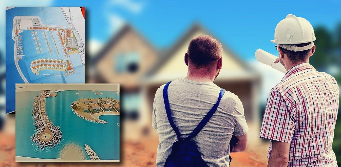 Νέα Μάκρη: H κατασκευή μαρίνας με 28 κατοικίες αλλάζει πρόσωπο στην παραλία - Φωτογραφία 1
