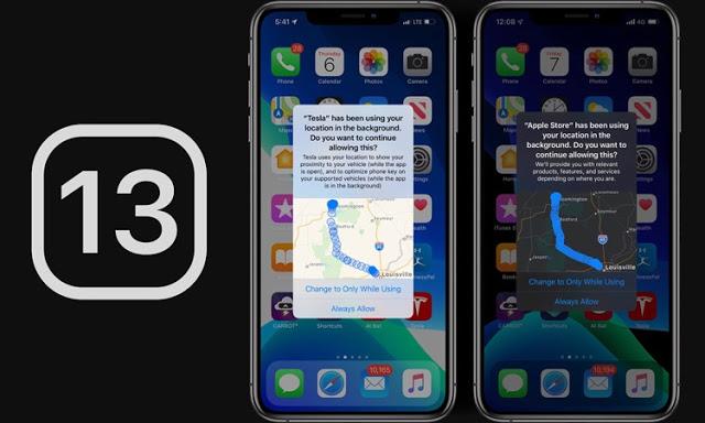 Το iOS 13 έχει μείωση κατά 68% στην παρακολούθηση τοποθεσίας παρασκηνίου - Φωτογραφία 1