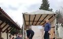 Παραδόθηκε στην Αλβανία η  ανθρωπιστική βοήθεια του Δήμου Αγρινίου