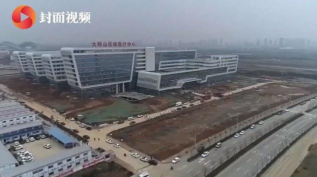 Aπίστευτα πράγματα: Σε 5 μέρες ετοίμασαν το νοσοκομείο στην Κίνα για τον κοροναϊό - Φωτογραφία 1