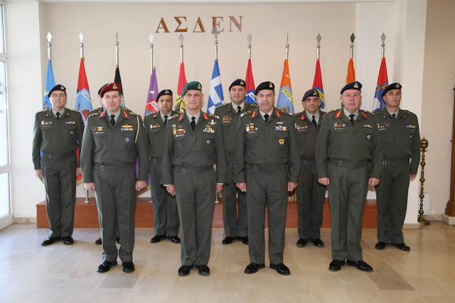 Επίσκεψη Αρχηγού Γενικού Επιτελείου Στρατού στο Στρατηγείο της ΑΣΔΕΝ - Φωτογραφία 1