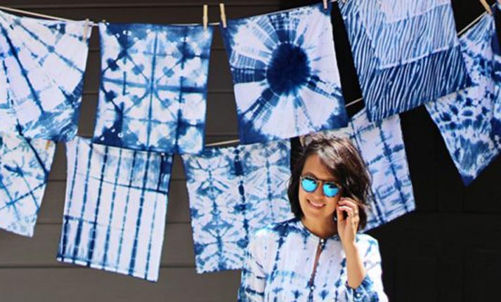 ΚΑΤΑΣΚΕΥΕΣ - Shibori: Βάψτε τα υφάσματά σας με αυτή την DIY τεχνική από την Ιαπωνία - Φωτογραφία 1