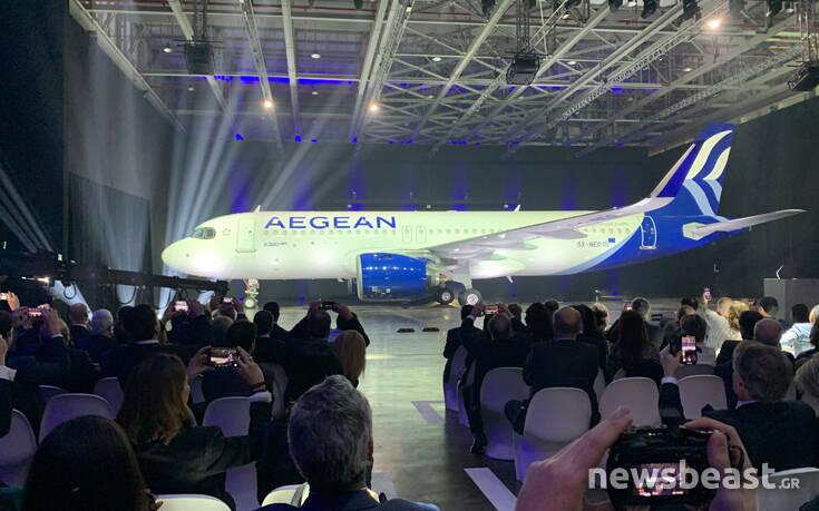 Αυτά είναι τα νέα αεροπλάνα και το νέο σήμα της Aegean - Φωτογραφία 3