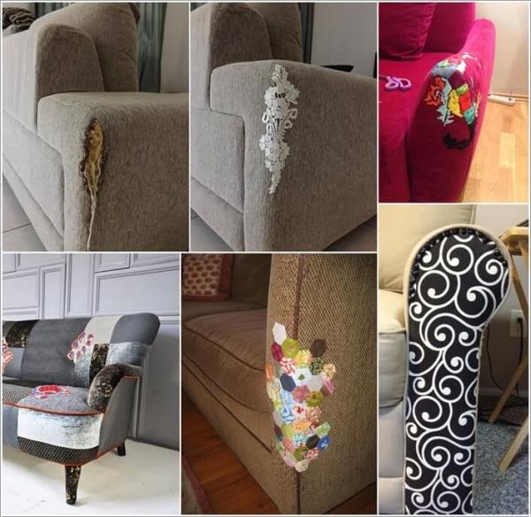 ΚΑΤΑΣΚΕΥΕΣ - Πως να επιδιορθώσετε τον παλιό,σχισμένο & γδαρμένο καναπέ σας με στυλ - Φωτογραφία 1