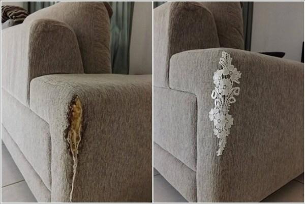 ΚΑΤΑΣΚΕΥΕΣ - Πως να επιδιορθώσετε τον παλιό,σχισμένο & γδαρμένο καναπέ σας με στυλ - Φωτογραφία 3