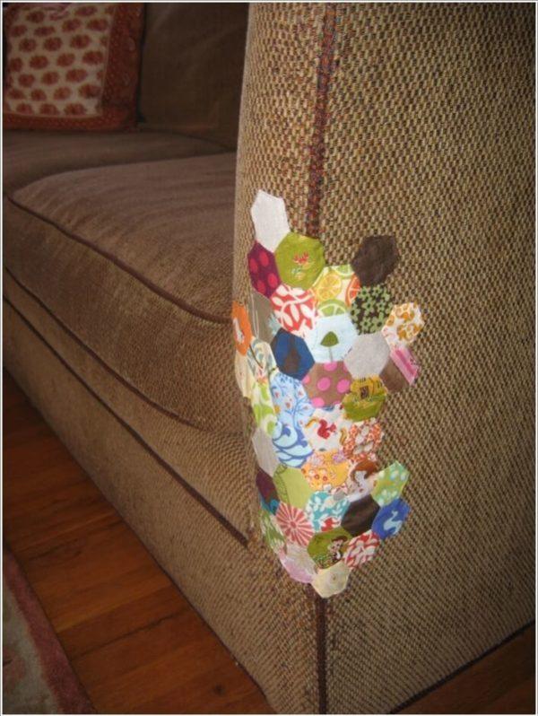 ΚΑΤΑΣΚΕΥΕΣ - Πως να επιδιορθώσετε τον παλιό,σχισμένο & γδαρμένο καναπέ σας με στυλ - Φωτογραφία 4