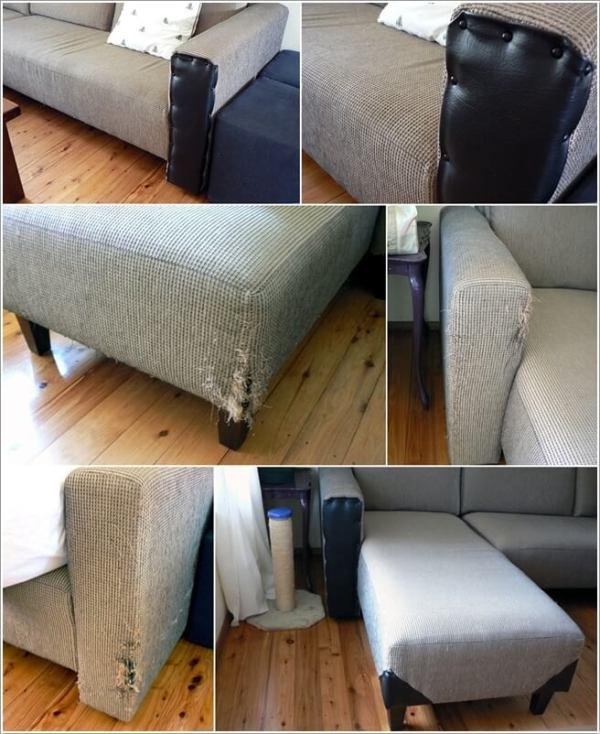 ΚΑΤΑΣΚΕΥΕΣ - Πως να επιδιορθώσετε τον παλιό,σχισμένο & γδαρμένο καναπέ σας με στυλ - Φωτογραφία 8