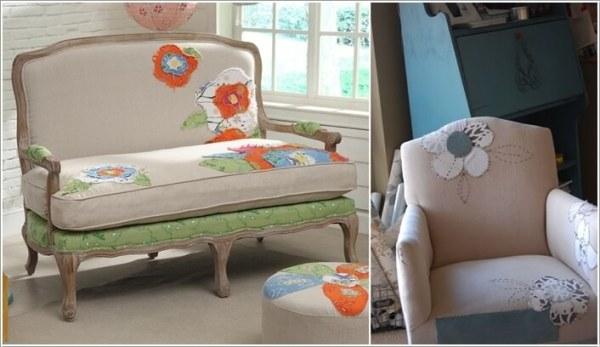 ΚΑΤΑΣΚΕΥΕΣ - Πως να επιδιορθώσετε τον παλιό,σχισμένο & γδαρμένο καναπέ σας με στυλ - Φωτογραφία 9