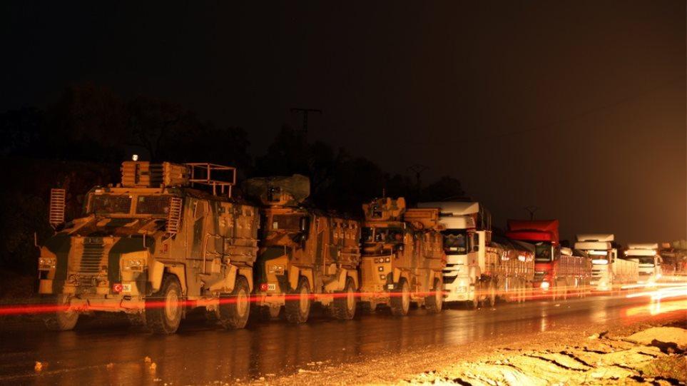 Σκληρή απάντηση της Μόσχας στην Άγκυρα: Ο τουρκικός στρατός κλιμακώνει τις συγκρούσεις στην Ινλίμπ - Φωτογραφία 1