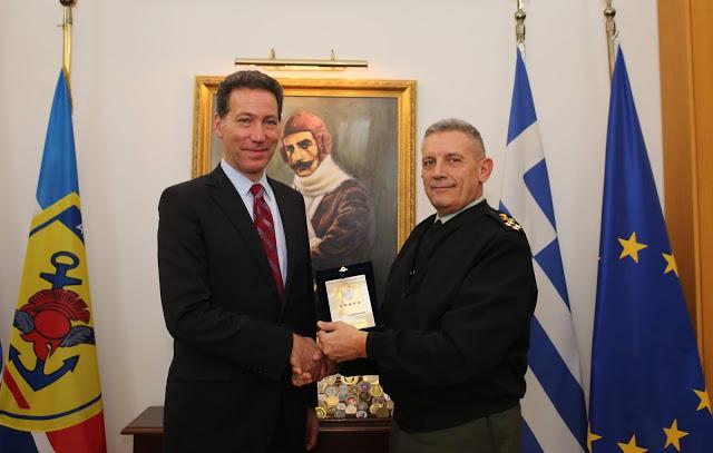 Επίσκεψη του Συμβούλου Εξωτερικής Πολιτικής της USEUCOM στην Ελλάδα - Φωτογραφία 1
