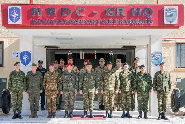 Επίσκεψη Αρχηγού ΓΕΕΘΑ στο NRDC-GR - Φωτογραφία 4