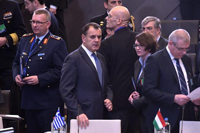 Ολοκλήρωση συμμετοχής ΥΕΘΑ Νικολάου Παναγιωτόπουλου στη φθινοπωρινή Σύνοδο των ΥΠΑΜ του ΝΑΤΟ στις Βρυξέλλες - Φωτογραφία 1