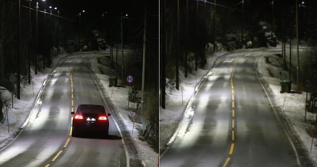 Ήρθαν οι «έξυπνοι» δρόμοι: Τα φώτα ανάβουν αυτόματα μόλις περνά αυτοκίνητο - Φωτογραφία 1