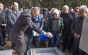 Τελετή Ενταφιασμού των Λειψάνων του Αντιστρατήγου Γεωργίου Κατσάνη στο Στρατιωτικό Νεκροταφείο Σιδηροκάστρου
