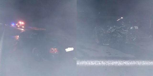 Τροχαίο ατύχημα με στρατιωτικό όχημα στον Προβατώνα - Φωτογραφία 1