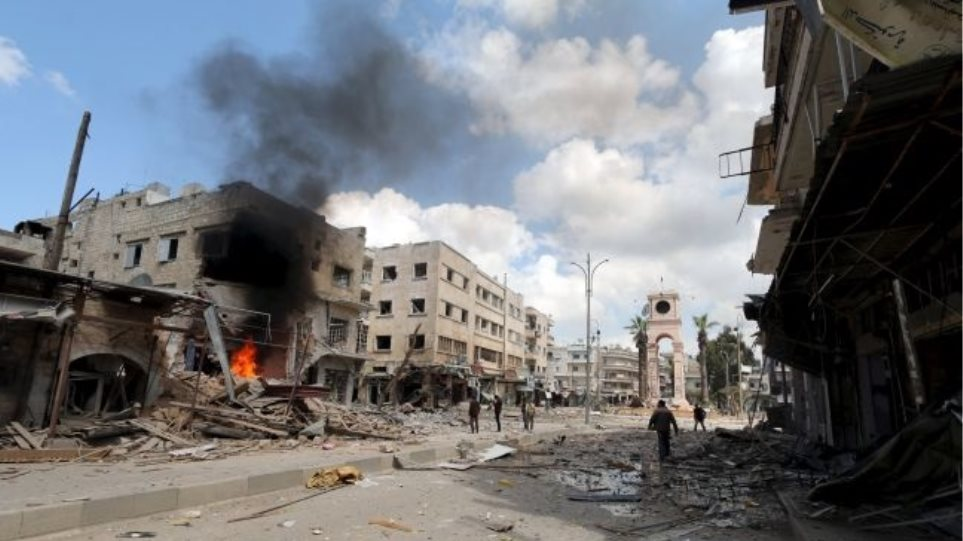 Συρία: Οι Ευρωπαίοι ηγέτες ζητούν από τον συριακό στρατό να σταματήσει την επιχείρησή στην Ιντλίμπ - Φωτογραφία 1