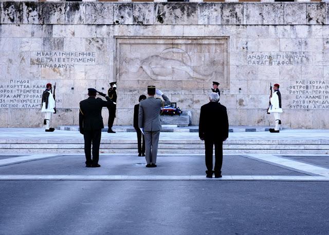 Συνάντηση ΥΕΘΑ κ. Νικόλαου Παναγιωτόπουλου με την Υπουργό Άμυνας της Γαλλικής Δημοκρατίας κ. Φλωράνς Παρλύ - Φωτογραφία 11