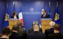 Συνάντηση ΥΕΘΑ κ. Νικόλαου Παναγιωτόπουλου με την Υπουργό Άμυνας της Γαλλικής Δημοκρατίας κ. Φλωράνς Παρλύ - Φωτογραφία 2