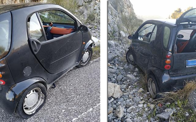 ΜΥΤΙΚΑΣ: Τροχαίο ατύχημα στο Δρόμο Μύτικας-Αστακός (στο ύψος Αγριλιάς) - [ΦΩΤΟ] - Φωτογραφία 2