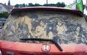 Έργα τέχνης σε σκονισμένα αυτοκίνητα! (Photos)
